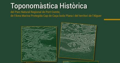 Mapa Toponomàstica Històrica
